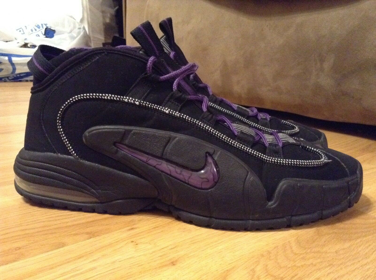 44081403fc16 Mens Nike Air Max Penny Penny Penny 1 Phoenix Suns Basketball Shoes  311089-002 Size