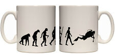 Juko Evolution Ape To Scuba Diver Mug Tea Coffee Evo Cup