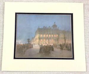 1983 Vintage Stampa The Inverno Palazzo Russia Romanov Royal Family Architettura