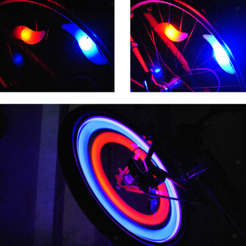 Bright Bike Spoke Lights Wheel LED Flash for Bicycle Accessories Decoration