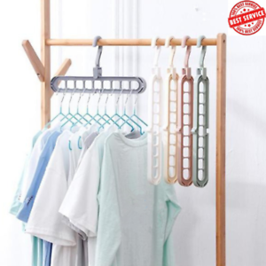 Anti-skid-Rotate-Folding-Hanger-Clothes-Anti-skid-Multifunction-Hanger-Hook-2PCS