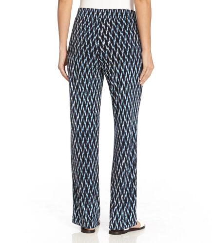 Stretch 90 Blue Pantaloni 2l88512w Print Jersey larghi 0x Plus Kane Ikat Karen xqY7R4F4