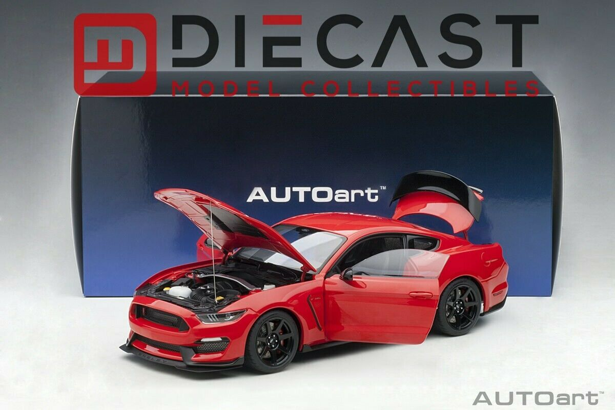 AUTOART 72935 Ford Shelby GT-350R (Race Red) 1:18TH Scale