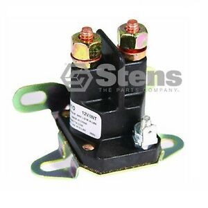 lawn tractor 3 post solenoid fits 7701100ma 7769224ma. Black Bedroom Furniture Sets. Home Design Ideas