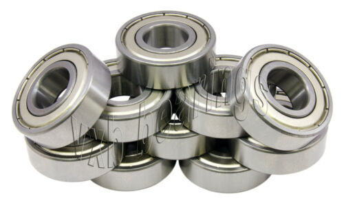 "Lot 10 Wheel Ball Bearing 1621ZZ 1//2/""x 1 3//8/""x 7//16/""inch 0.500 x 1.375 x0.438/"""