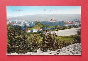 AK-BISCHOFSWERDA-um-1910-Blick-vom-Napoleonstein-auf-die-Stadt-38365