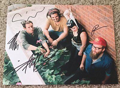 Hiatus Kaiyote Band Signed Autograph 8x10 Photo C W/proof Nai Palm Entertainment Memorabilia 3