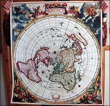 "Mapa de Tierra Plana (33 X 30 Pulgadas) - Cook aerdsch pleyn ""Jacobus robijn 1700-PVC"