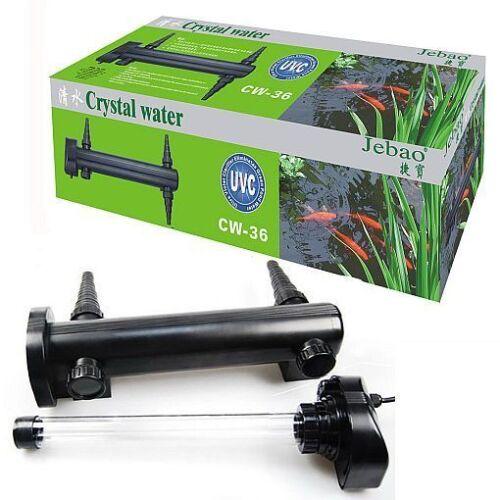 Jebao UV UVC Ultra Violet Light Clarificateur d/'eau stérilisateur efface vert d/'eau UK