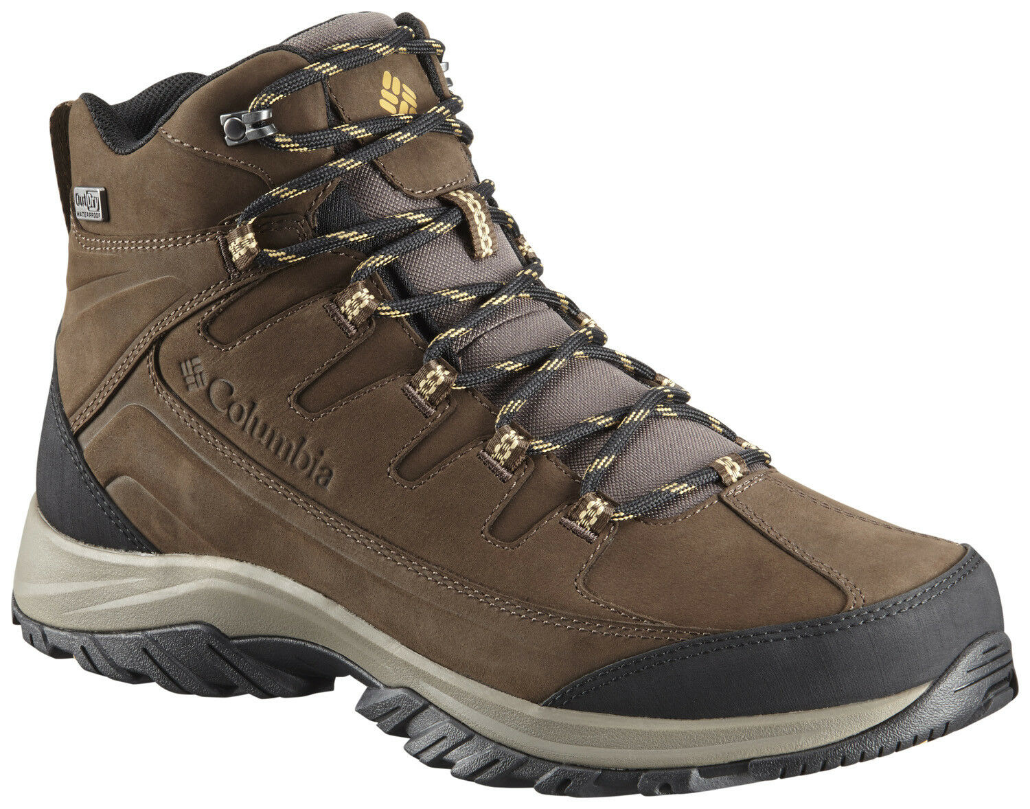 Men's Columbia Terrebonne II Mid Outdry Trail Boot Mud Curry