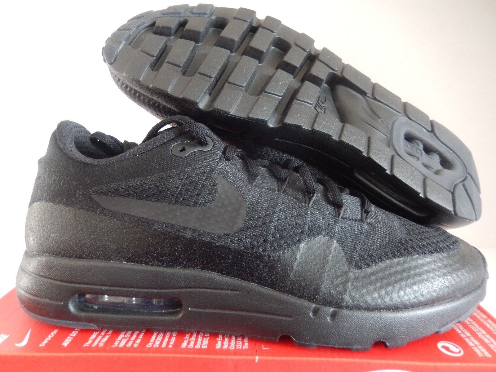 NIKE AIR MAX 1 ULTRA FLYKNIT BLACK-BLACK-ANTHRACITE Price reduction
