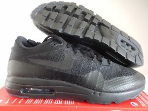 24cce47ca68 NIKE AIR MAX 1 ULTRA FLYKNIT BLACK-BLACK-ANTHRACITE SZ 12.5  856958 ...
