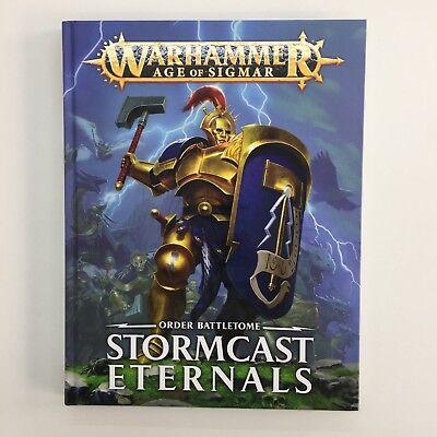 WARHAMMER AGE OF SIGMAR STORMCAST ETERNALS BATTLETOME ARMY BOOK HARDBACK 2017