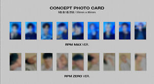 SF9-RPM-ALBUM-Official-Photocard-RPM-MAX-ver-BLACK-Concept-Photocard