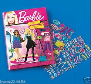 Barbie Angel Sticker Fashion Design Stylist Kit 700