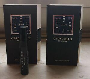 Chaumet Homme Cofinluxe Mini Sprayer 2 x ca. 2 ml EDT in OVP (Vintage)