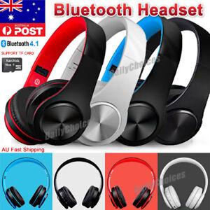Foldable-Wireless-Bluetooth-Stereo-Headset-Headphones-Earphone-FM-Radio-Mic-MP3