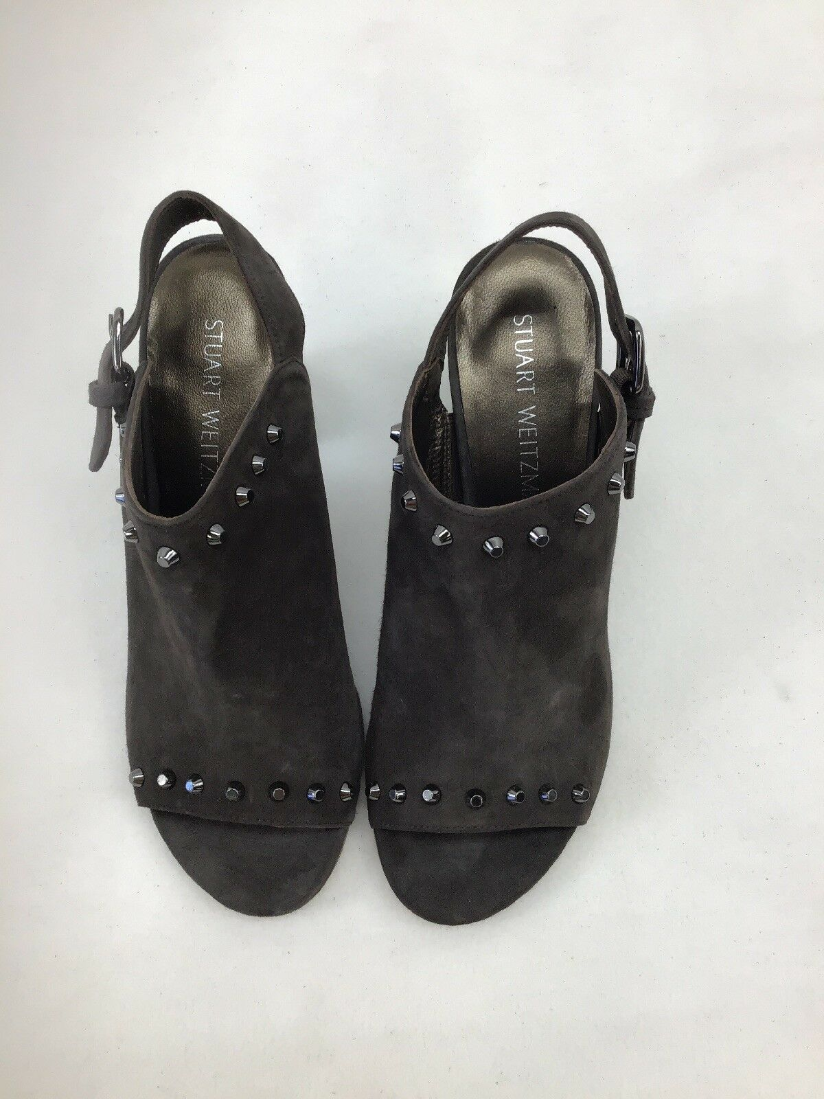 Stuart Weitzman commodor Londra tamaño Zapato De Gamuza 7M F273 F273 F273   al precio mas bajo