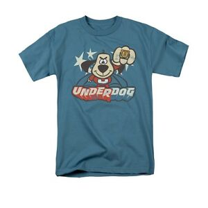 UNDERDOG-FLYING-LOGO-Licensed-Adult-Men-039-s-Graphic-Tee-Shirt-SM-5XL