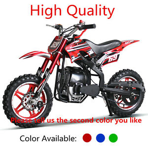 49cc Dirt Bike 50cc Kids Pocket Bike Moped Mini Motorcycle 10inch Aluminum Wheel Ebay