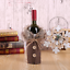 Christmas-Wine-Bottle-Cover-Table-Party-Decor-Hat-Santa-Xmas-Party-Ornament-Gift miniatura 35