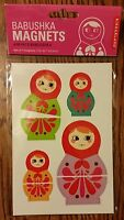 Kitchen Fridge/locker Russian Nesting Doll Babushka/matryoshka Magnets.