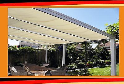 Verasol Alu//Glas Terrassenüberdachung 500x300cm Anlehn Carport Terrassendach