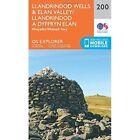 Llandrindod Wells and Elan Valley, Rhayader by Ordnance Survey (Sheet map, folded, 2015)