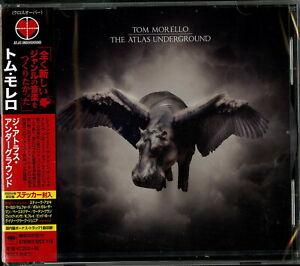 TOM-MORELLO-THE-ATLAS-UNDERGROUND-JAPAN-CD-BONUS-TRACK-E78