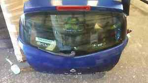 Renault-Clio-MK3-2005-2012-Rear-Boot-Tailgate-Blue-NV432