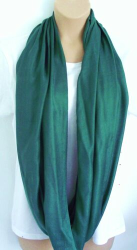 Brand New Colours Forest Green /& Sand Infinity Scarf Snood Lime Green