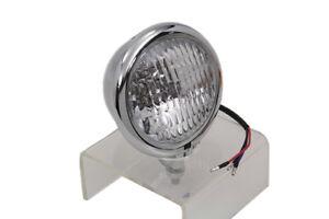 Chrome-4-1-2-Spotlamp-a-Monter-For-Harley-Davidson