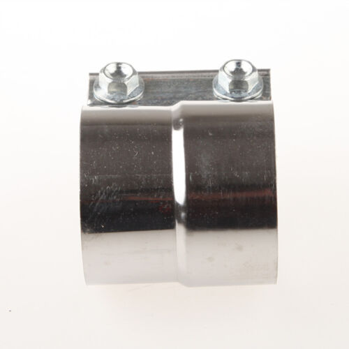 """2/"""" Stainless Steel Torctite Exhaust Band Clamp Step Clamps Lap Joint US"""