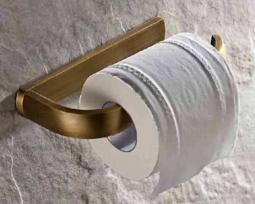 Antique Brass Bath Accessories Towel Bar Ring Toilet Bathroom Hardware Set