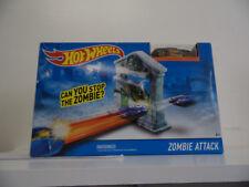 Hot Wheels Track Set Zombie Attack Playset New DJF03 Jump /& Score