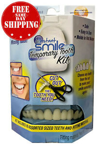 INSTANT-SMILE-TEETH-REPLACEMENT-KIT-Easy-temporary-tooth-fix-MULTI-SHADE-SETS