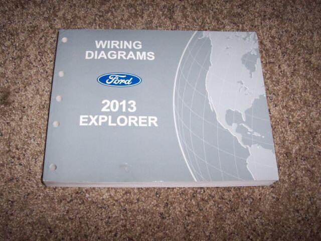 2013 Ford Explorer Electrical Wiring Diagram Manual Xlt Limited Sport 2 0l 3 5l
