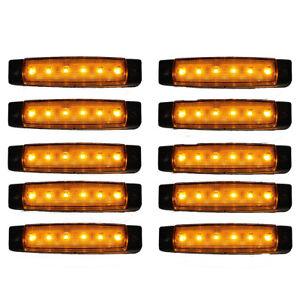 10-pcs-12V-6-LED-marqueur-indicateurs-lumieres-camion-remorque-lampeP4N4