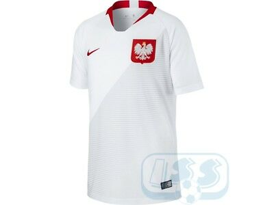 Austria 18j: Poland Home Kids Jersey 2018 2019 Official Nike Top Product Boys | eBay