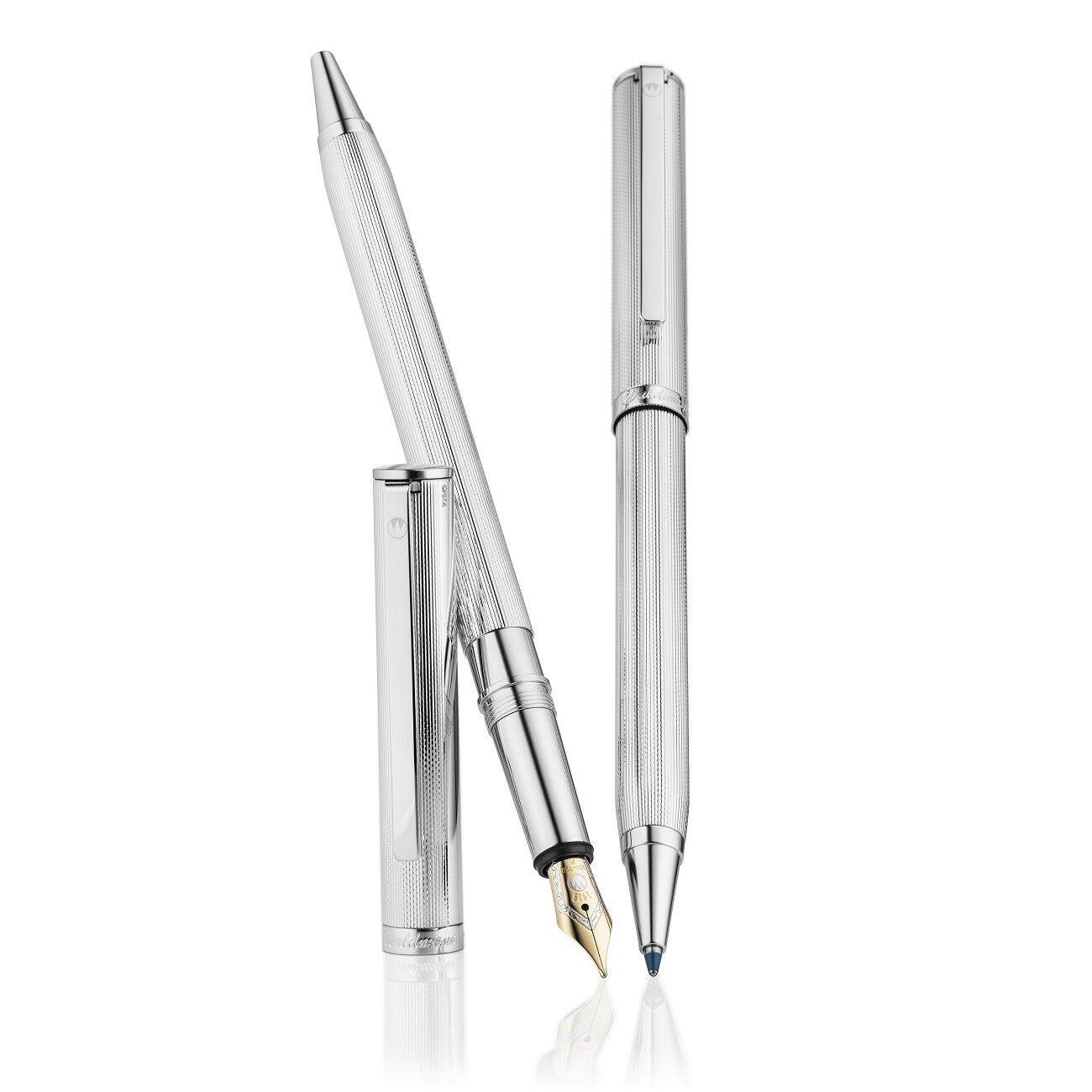 Waldmann Pen,Sterling Pen,Sterling Pen,Sterling Silber,Two in One,Sonderotition,Füller&Kugelschreiber | Online-Exportgeschäft  6fe2ff