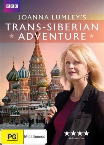 1 of 1 - Joanna Lumley's Trans-Siberian Adventure (Region 4 DVD) NEW/SEALED
