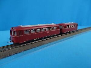 Marklin DB 800 DB Rail Bus Set DARK-RED 1955