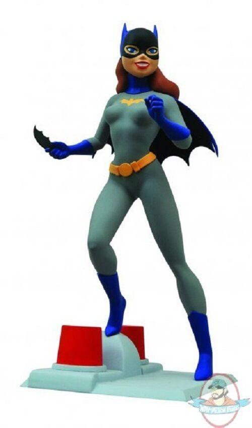 Femme Fatales DC Batman Animated Batgirl Pvc Statue by Diamond Select