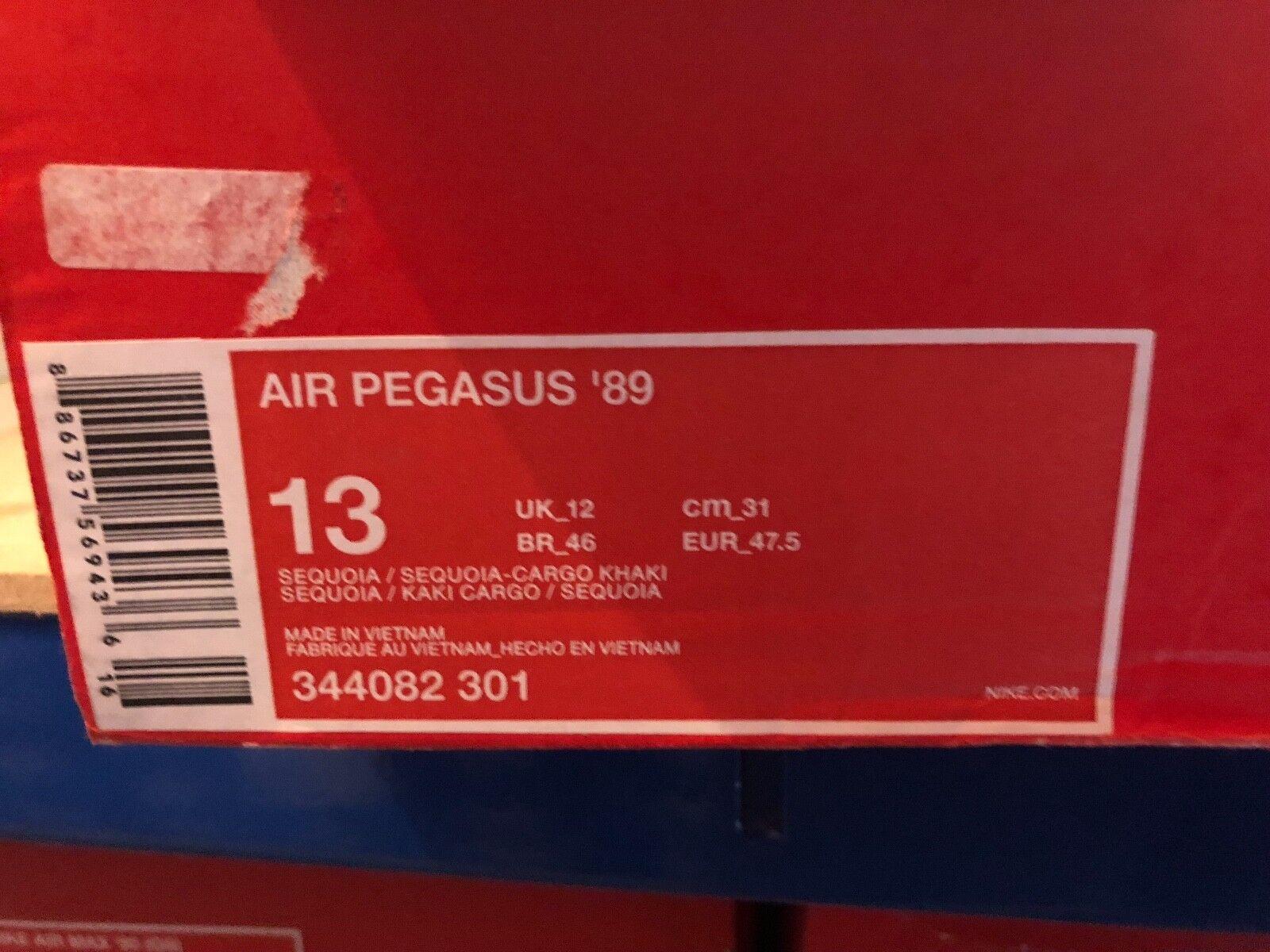 2018 Nike Air Pegasus 89 UK: ® ( Men Größes UK: 89 7 8 11 12 ) Sequoia Cargo Khaki Olive 162512
