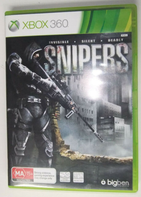 SNIPERS XBOX 360 PAL GAME
