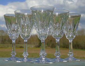 Baccarat-Service-de-6-verres-en-cristal-taille-modele-Tourville-H-14-1
