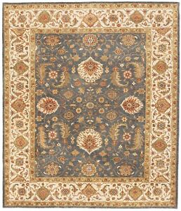 Image Is Loading Hand Knotted Indian Rug 8 039 1 034