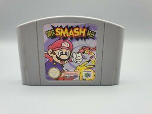Super Smash Bros n64 Nintendo 64 solo carro probado y trabajo Reino Unido EUR