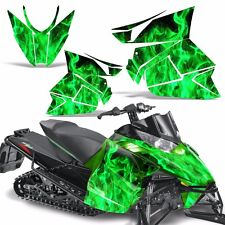 Pro Climb Wrap Graphic Kit Arctic Cat Cross Snowmobile Sled 2012-2013 ICE GREEN