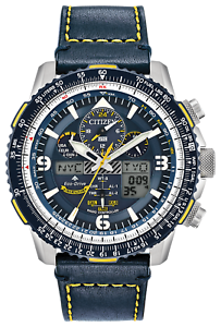 NEW-CITIZEN-PROMASTER-SKYHAWK-A-T-BLUE-ANGELS-LEATHER-WATCH-JY8078-01L